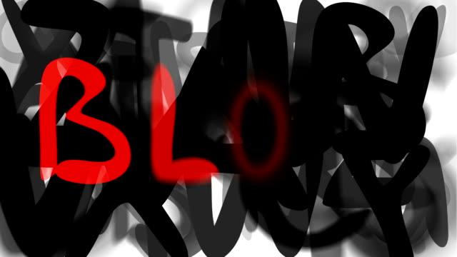 """blog: serie """"montage ihre nachricht"""" (endlosschleife) - multi layered effect stock-videos und b-roll-filmmaterial"""