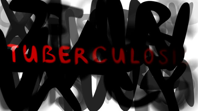 "tuberculosis : series ""assemble your message"" (loop) - tuberculosis stock videos & royalty-free footage"