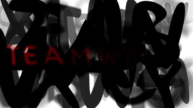 """teamarbeit: serie """"montage ihre nachricht"""" (endlosschleife) - multi layered effect stock-videos und b-roll-filmmaterial"""