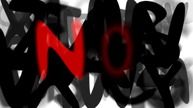 """no: serie """"assemblare il messaggio"""" (loop) - multi layered effect video stock e b–roll"""