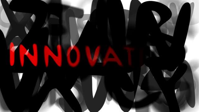 """innovazione: serie """"assemblare il messaggio"""" (loop) - multi layered effect video stock e b–roll"""