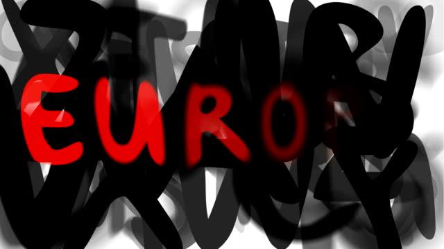 """europa: serie """"assemblare il messaggio"""" (loop) - multi layered effect video stock e b–roll"""