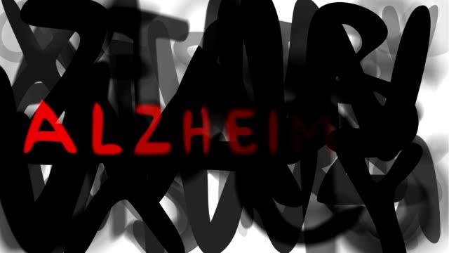 """alzheimer: serie """"montage ihre nachricht"""" (endlosschleife) - multi layered effect stock-videos und b-roll-filmmaterial"""