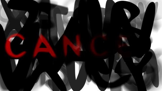 """krebs: serie """"montage ihre nachricht"""" (endlosschleife) - multi layered effect stock-videos und b-roll-filmmaterial"""