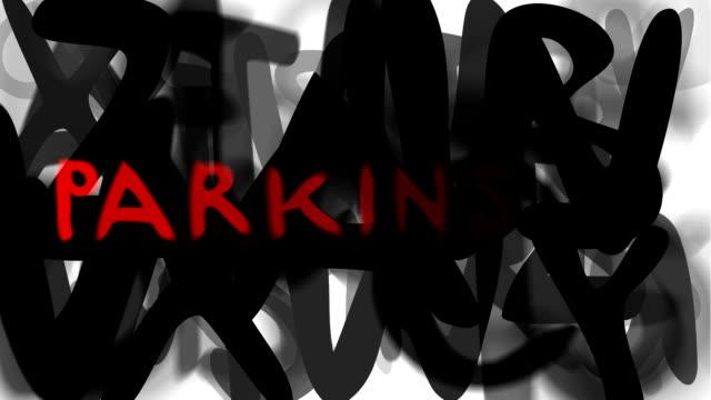 """parkinson: serie """"montage ihre nachricht"""" (endlosschleife) - multi layered effect stock-videos und b-roll-filmmaterial"""
