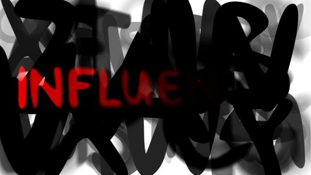 """grippe: serie """"montage ihre nachricht"""" (endlosschleife) - multi layered effect stock-videos und b-roll-filmmaterial"""
