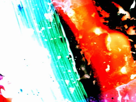 series of multicolored abstracts - brush stroke stock videos & royalty-free footage