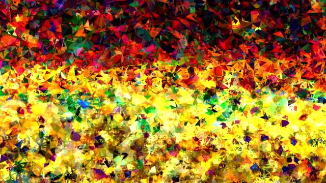 series metaphysisches Felder: secret Freude, farbenfrohen (LOOP