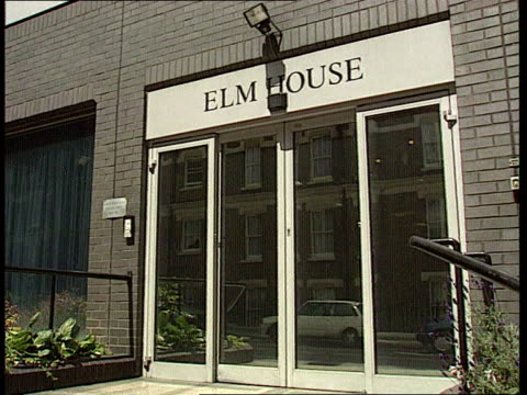 Nadir / Mates issue EXT CMS Sign on wall 'Serious Fraud Office' PULL OUT entrance with 'Elm House' on fascia CMS George Staple intvw SOF Cannot talk...