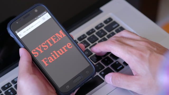 Serious with Smart phone System Failure