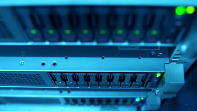 server in datacenter room - server room stock videos & royalty-free footage
