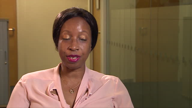 "service complaints ombudsman nicola williams saying she ""has seen changes"" in efforts to tackle racism in the british armed forces - british military stock videos & royalty-free footage"