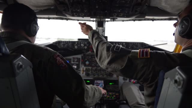 us service members disembark a kc135 stratotanker in colombo sri lanka to participate in exercise pacific angel 1804 aug 10 2018 - religious service stock videos & royalty-free footage