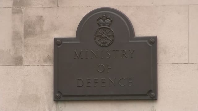 Servicemen arrested in neoNazi probe ENGLAND London 'Ministry of Defence' plaque and building