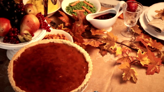 serving christmas turkey dinner - thanksgiving stock videos & royalty-free footage