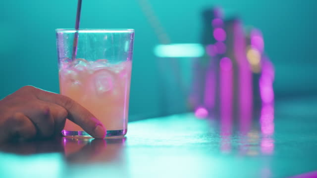 serving cocktail 4k - napkin stock videos and b-roll footage