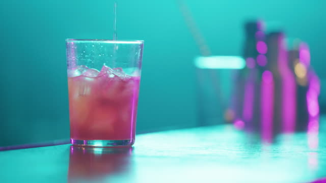 serving cocktail 4k - cocktail stock videos & royalty-free footage