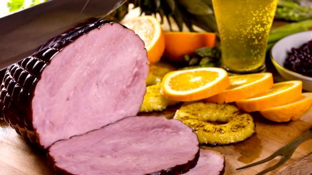 Portie heerlijke Ham