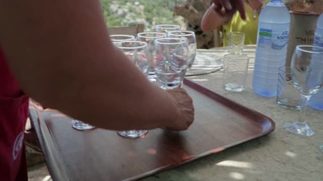 serving drinks - serving tray stock videos and b-roll footage