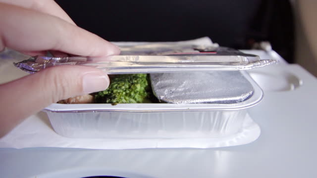 serving food on board. - packed lunch stock videos & royalty-free footage