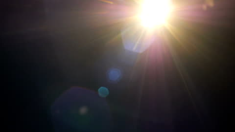 set of light leaks film effect on black background - lens flare stock videos & royalty-free footage