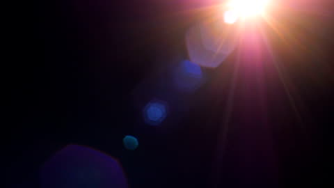 vídeos y material grabado en eventos de stock de conjunto de luz fugas de efecto de película sobre fondo negro - rayo de luz