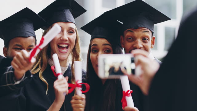 set positive examples for others - mortar board stock videos & royalty-free footage