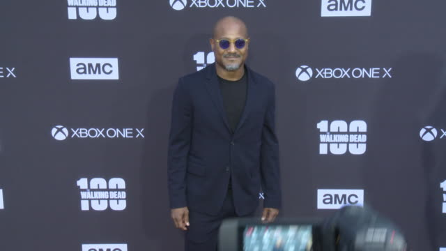 Seth Gilliam at the AMC's The Walking Dead 100th Episode Season 8 Special Premiere Screening at The Greek Theatre on October 22 2017 in Los Angeles...