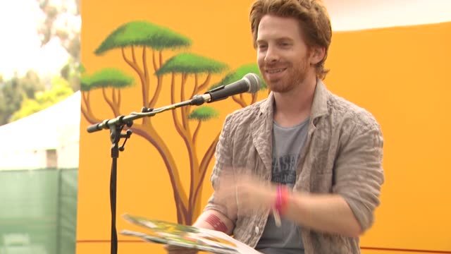 seth green at the 21st annual 'a time for heroes' celebrity picnic benefit at los angeles ca - a time for heroes stock videos & royalty-free footage