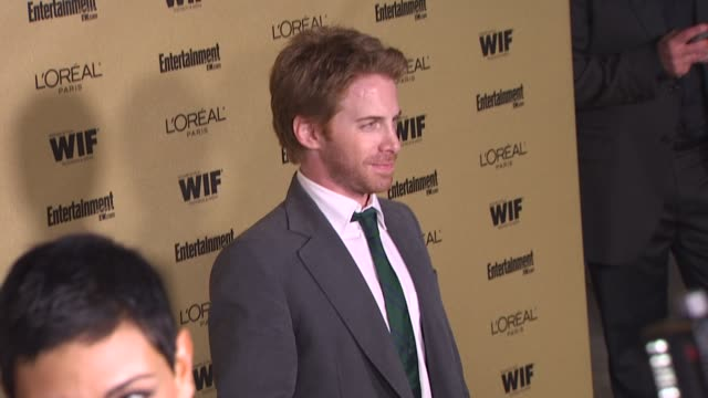 seth green at the entertainment weekly and women in film pre-emmy party at west hollywood ca. - pre emmy party stock videos & royalty-free footage