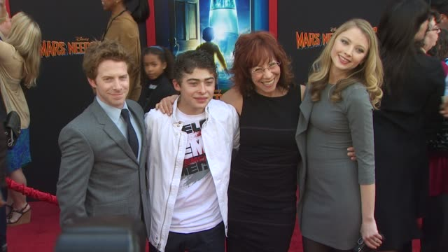 seth green, mindy sterling, elisabeth harnois at the 'mars needs moms' premiere at hollywood ca. - financial accessory stock videos & royalty-free footage