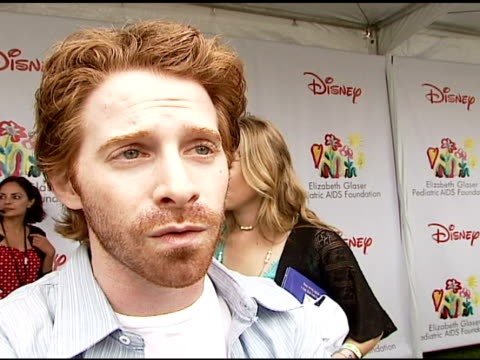 Seth Green on being at the event on how and why he got involved with and supports the Foundation what makes the 'Time For Heroes' carnival special on...