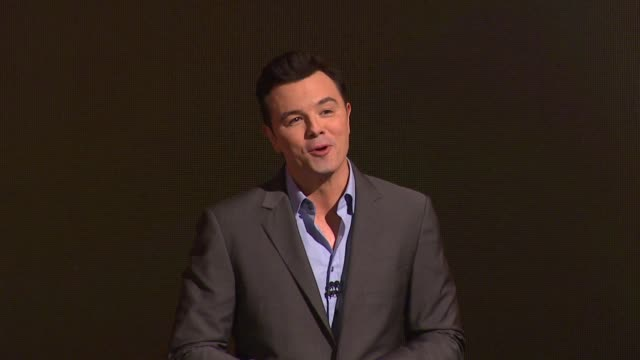 seth macfarlane at the 85th academy awards nominations announcement in beverly hills 01/10/13 seth macfarlane at the 85th academy awards nominat at... - samuel goldwyn theater stock videos & royalty-free footage