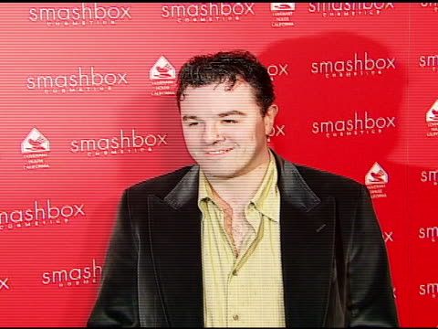 seth mcfarlane at the smashbox cosmetics celebration of the holidays and brent bolthouseæs birthday at covenant house california in los angeles... - 2006 stock videos & royalty-free footage