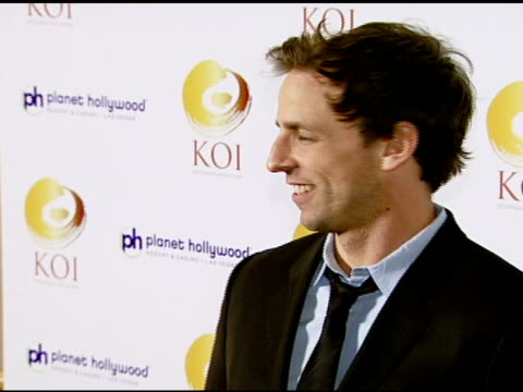 seth meyers at the koi las vegas grand opening at planet hollywood in las vegas nevada on november 9 2007 - seth meyers stock videos and b-roll footage