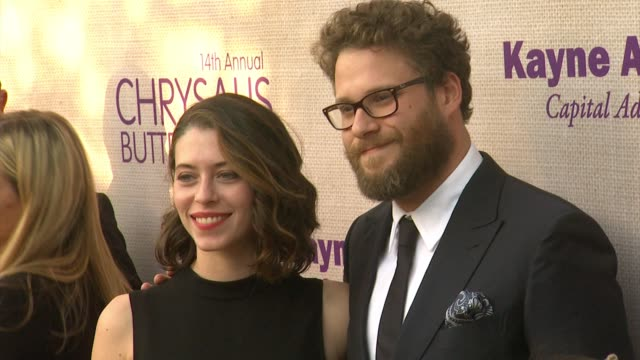 seth rogen at 14th annual chrysalis butterfly ball in los angeles ca - chrysalis butterfly ball video stock e b–roll