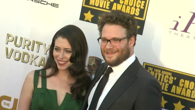 Seth Rogen at 19th Annual Critics' Choice Movie Awards Arrivals at The Barker Hanger on in Santa Monica California