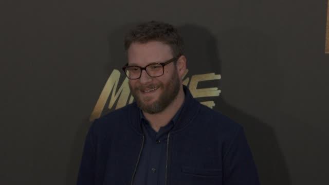 Seth Rogen at the 2016 MTV Movie Awards at Warner Bros Studios on April 9 2016 in Burbank California