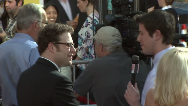 seth rogen at the 'observe and report' premiere at hollywood ca - seth rogen stock videos and b-roll footage