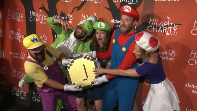 seth rogen lauren miller rogen and raffi adlan at hilarity for charity's 5th annual los angeles variety show seth rogen's halloween at hollywood... - seth rogen stock videos and b-roll footage