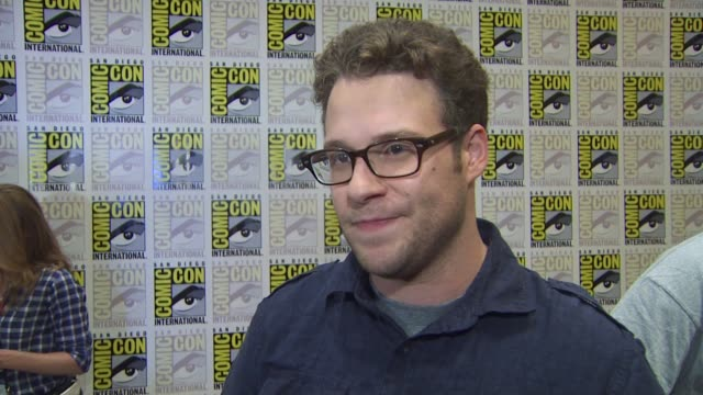 seth rogen on his character on july 23 2010 in san diego california - seth rogen stock videos and b-roll footage