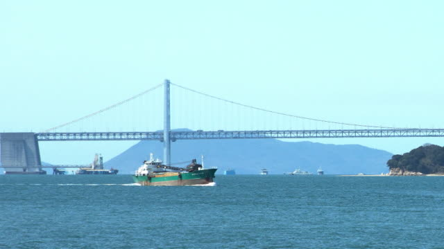 seto ohashi bridge, kagawa, japan - satoyama scenery stock videos & royalty-free footage