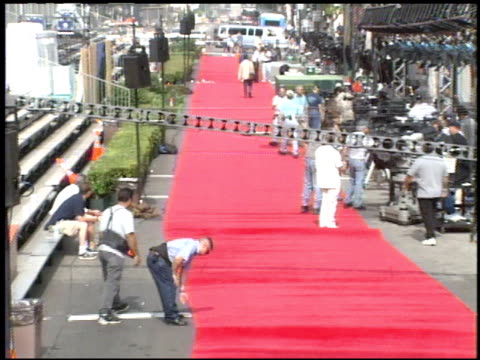 Setting Up at the 'Tarzan' Premiere at the El Capitan Theatre in Hollywood California on June 12 1999