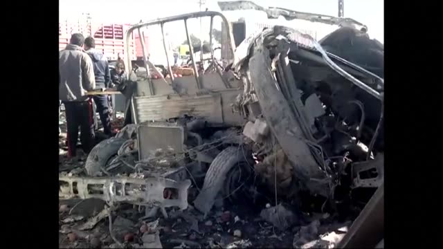 seven bombs ripped through baghdad killing five people thursday, hours after american lawmakers criticised the slow pace of political reconciliation... - baghdad stock videos & royalty-free footage