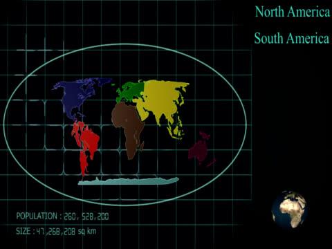 vídeos y material grabado en eventos de stock de todos los continentes-ntsc - europa continente
