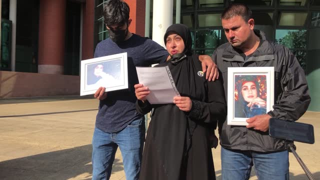 seven men have been found guilty of murdering a law student who was mistakenly gunned down in a botched drive-by shooting. tyre firm boss feroz... - execution stock videos & royalty-free footage