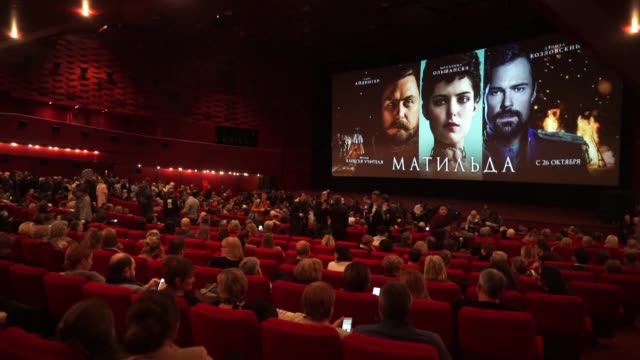 Seven people were arrested at a protest at the Moscow premiere of Matilda a controversial biopic of the last tsar that has drawn threats from...