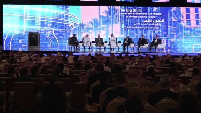 several high profile guests have cancelled their participation at the future investment initiative in riyadh dubbed davos in the desert over the... - kritiker stock-videos und b-roll-filmmaterial