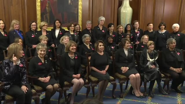 Several members of Congress are wearing black ahead of the State of the Union address as a message of solidarity with the Time's Up movement against...