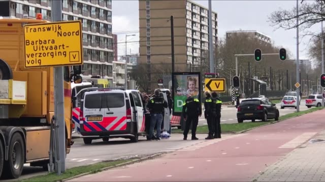 several people were injured after a gunman opened fire on tram passengers in the netherlands security sources said on monday the attack was carried... - utrecht stock videos & royalty-free footage